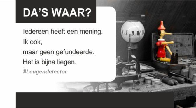 De verkiezingen: is Geert Wilders een feit of een alternatief feit?