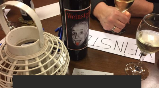 Hersengym 4: Als de wijn is in de man, is….