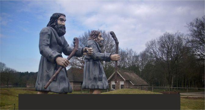 Pieterpad dag zes: Ellert en Brammert worden spiritueel!